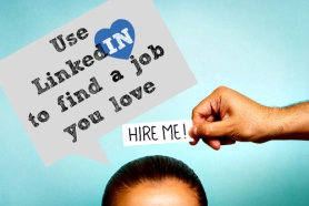Use LinkedIn to find a job