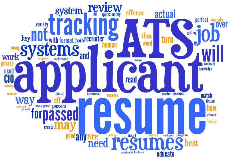 Understanding ATS systems and ATS-optimized resumes | MCK Resume ...